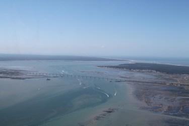Le pont qui relie le continent