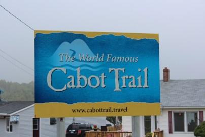 le sentier Cabot que nous allons emprunter jusqu'à Cape North, notre destination