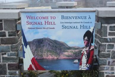 Signal Hill, lieu du fort John Cabt