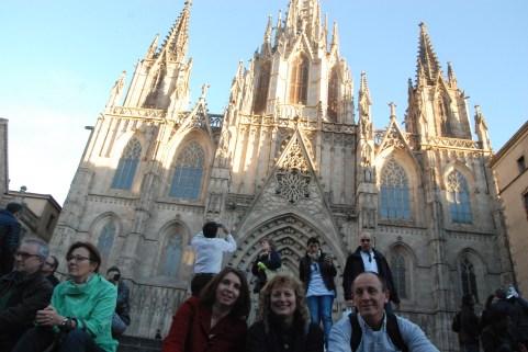 La Cathédrale Sainte-Eulalie dans le Barri Gotic