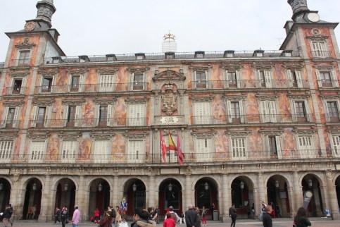 Plaza Mayor, la casa de la Panaderia