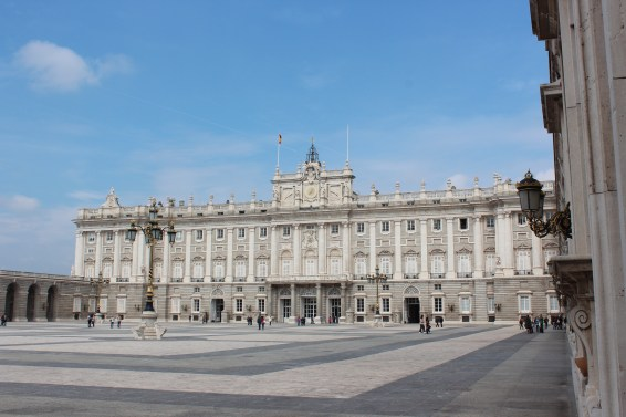 Palacio Real (ou n'habitent pas le Roi et la Reine)