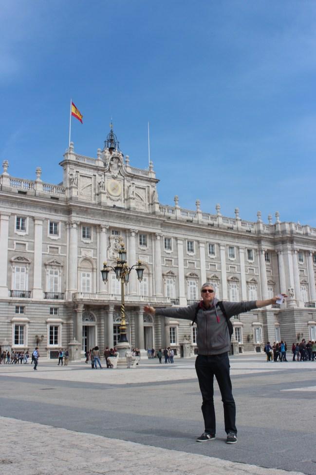 Palacio Real, où fut signé le traité d'adhésion de l'Espagne à la CEE
