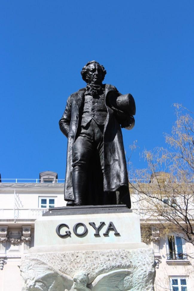 Goya est l'un des peintres les plus représentés dans ce musée