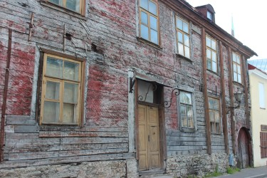 La tradition estonienne des maisons en bois