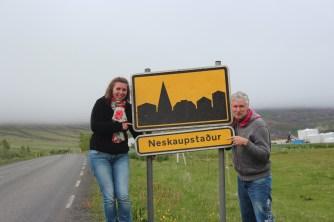 la ville la plus à l'est d'Islande