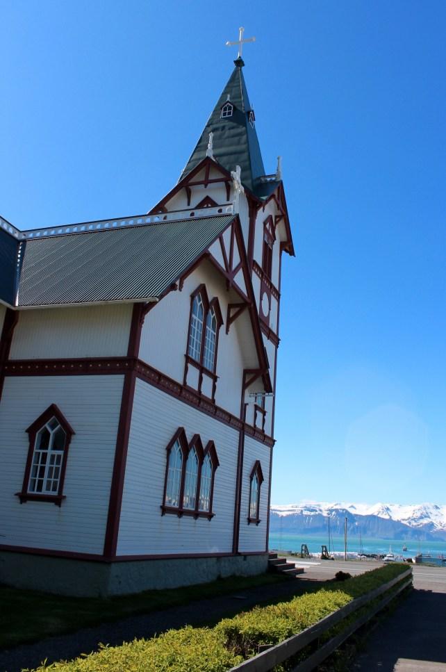 l'Eglise d'Husavik