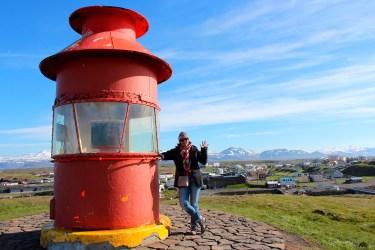 Le vieux phare de Stykkisholmur