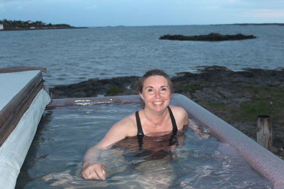 bain de minuit à Egilstadir