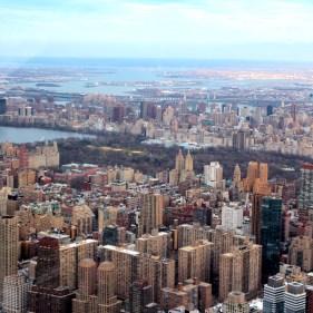Central Park au loin
