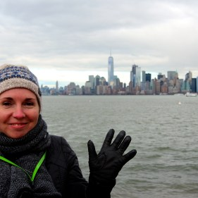 Depuis Liberty Island
