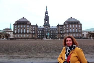 Le palais de Christiansborg