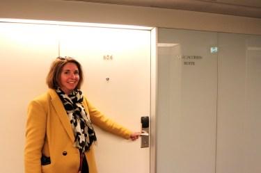 Nous étions 2 chambres à coté de la chambre conservée en l'état, depuis les années 70, du célèbre designer danois Arne Jacobsen