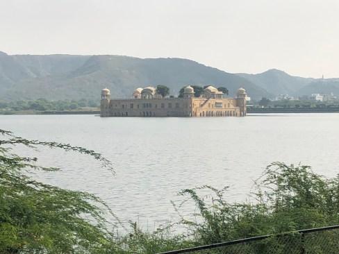 Palace lake