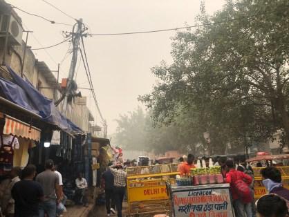 Beaucoup d'agitation à Delhi