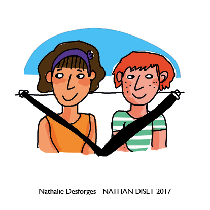 Nathalie Desforges jeu de cartes orthographe - Nathan Diset62
