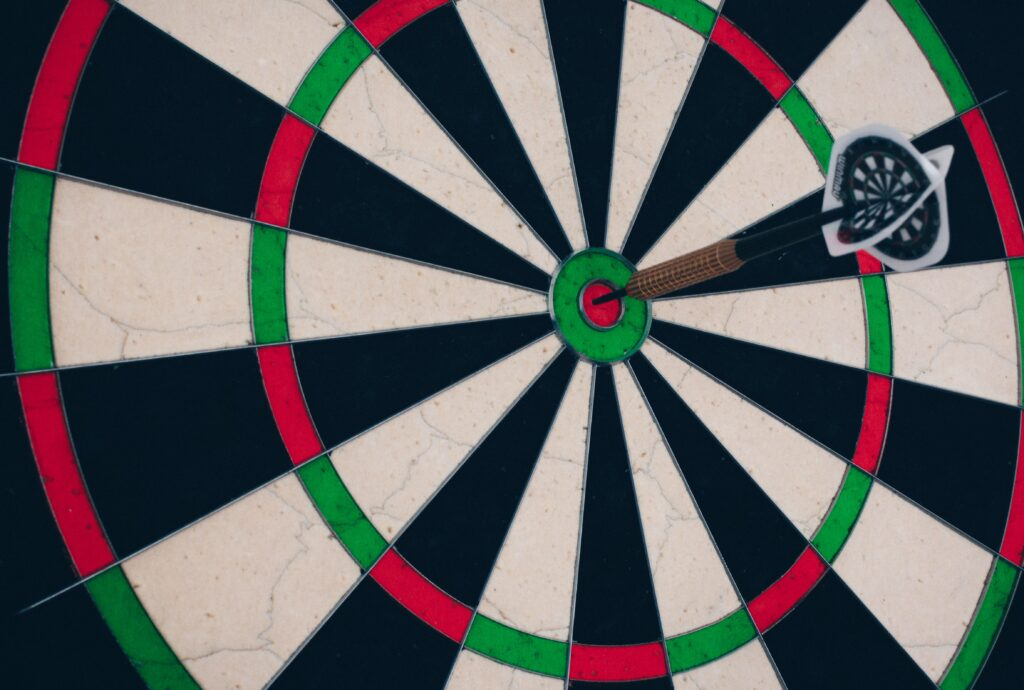 dart board
