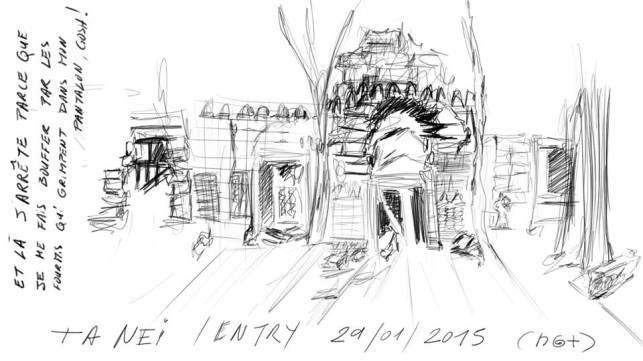 the inlive sketch onsite