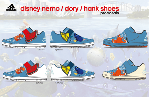 Nemo, Dory, Hank proposals