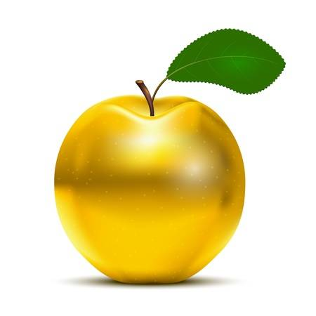 18383393-vector-golden-apple-avec-des-feuilles-vertes-isolé-sur-fond-blanc.jpg