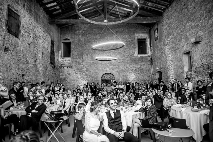photo de soirée de mariage CHATEAU DE LA GALLEE