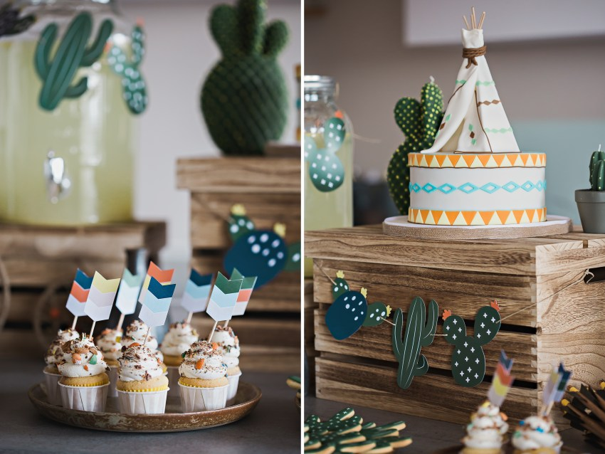 Photo Baby Shower Petit Indien
