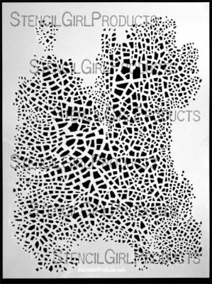 Crackle Stencil