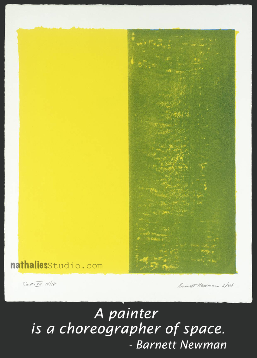 Canto XII 1963-4 by Barnett Newman 1905-1970