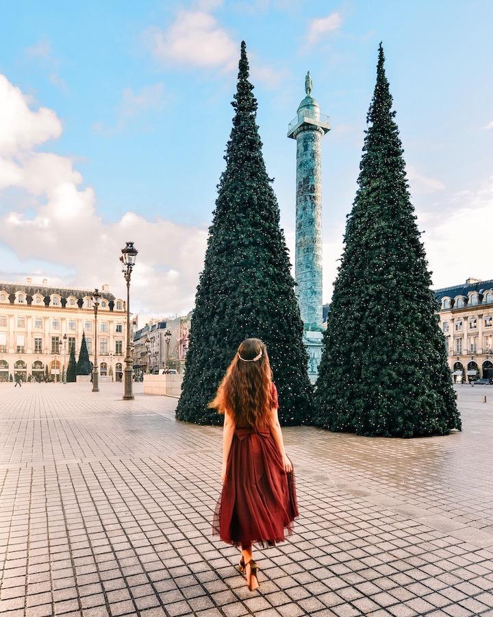 Place Vendôme at Christmas