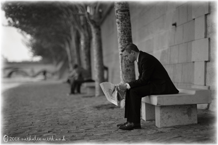 Le lecteur du Quai du Louvre