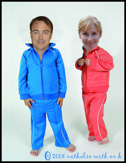 Now THESE look like tracksuits!