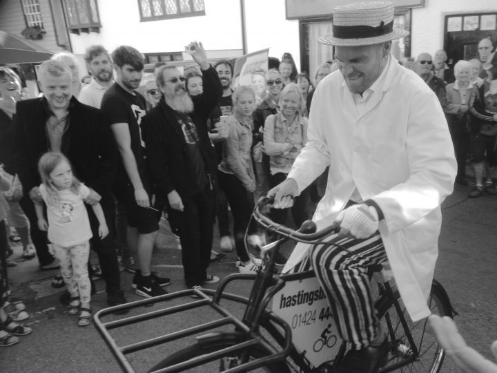 hastings old town butcher bike race