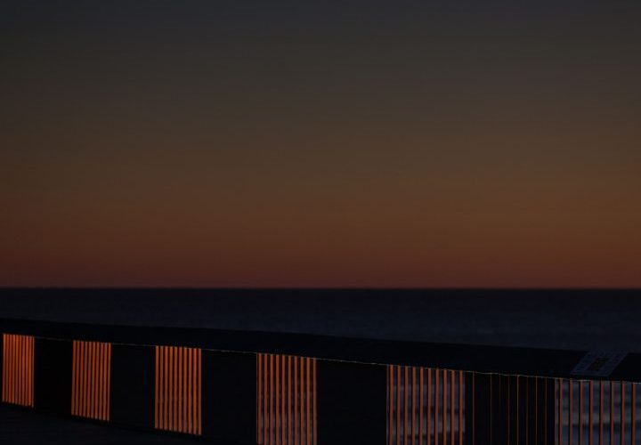 hastings pier abstract 2