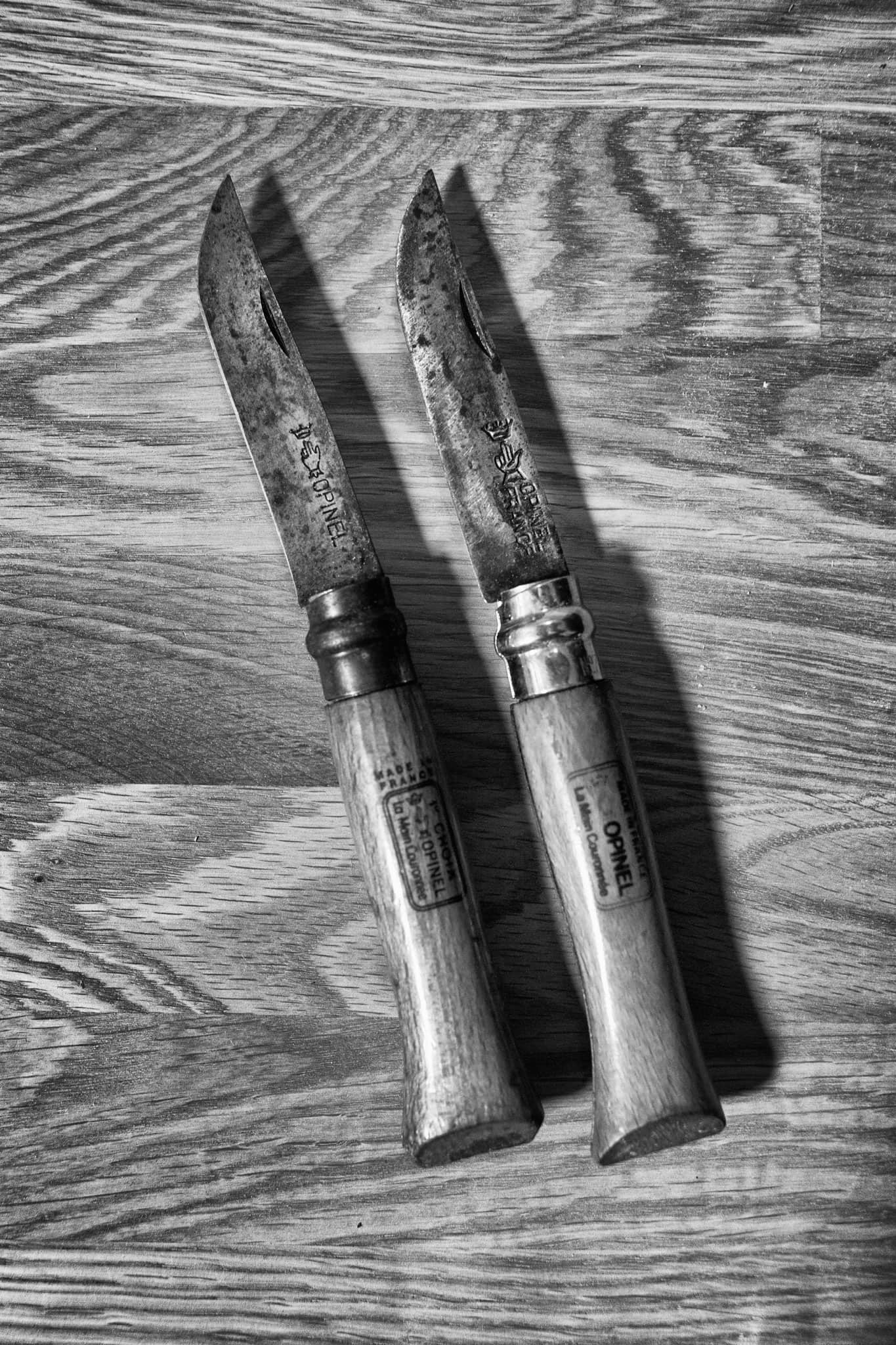 Opinel knife No. 8 photograph by Nathan Thomas Jones