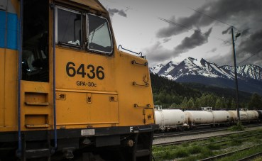 The Skeena, Via Rail train
