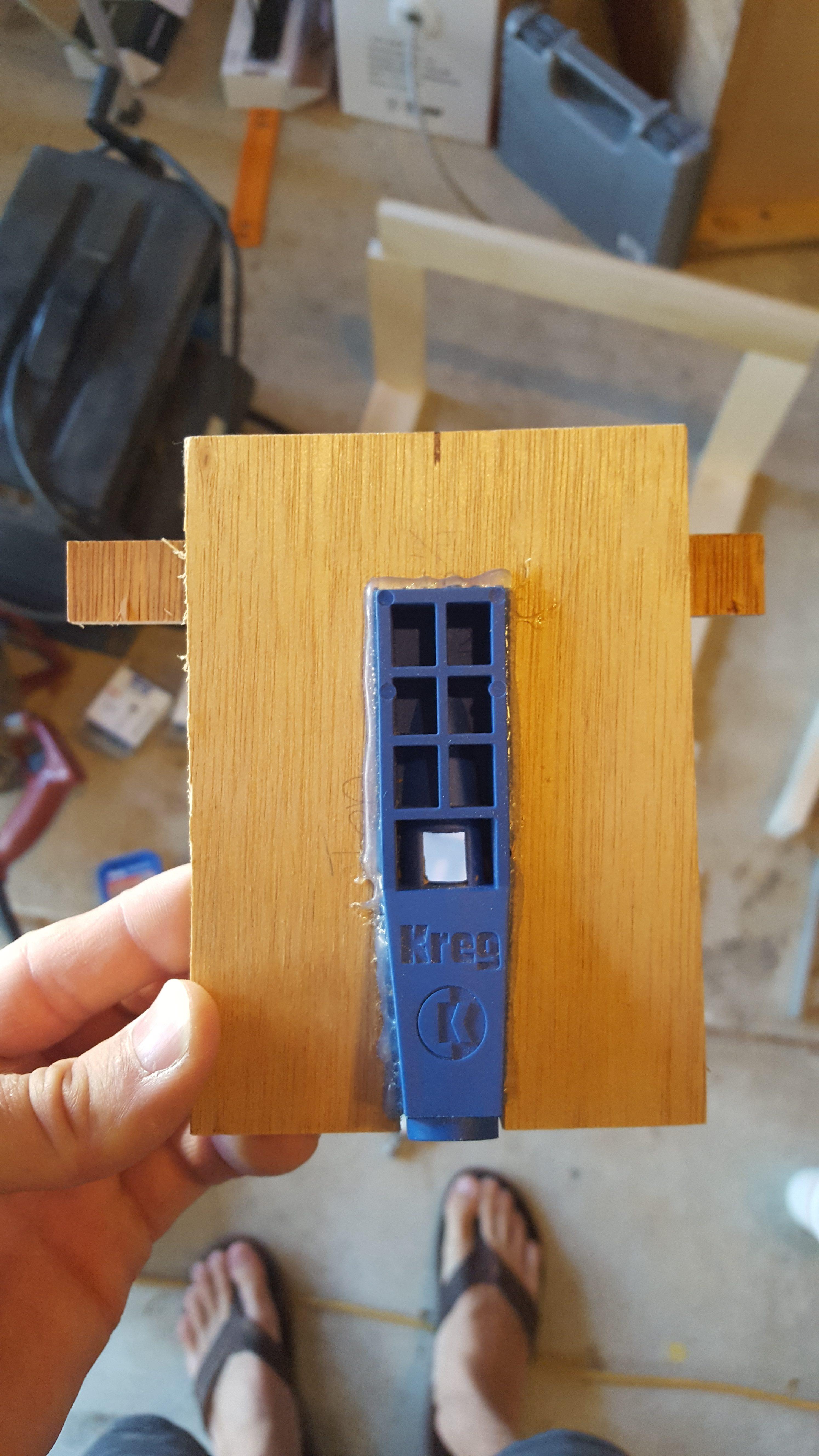 Kreg Jig Different Thickness Kreg Mini Diy Jig Next Project
