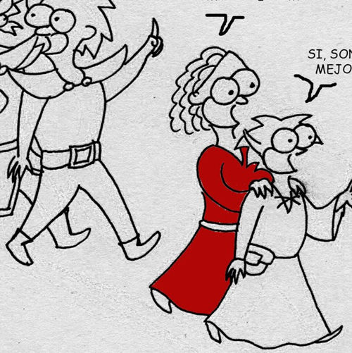webcomic la grande 46 Rumbo a la torre