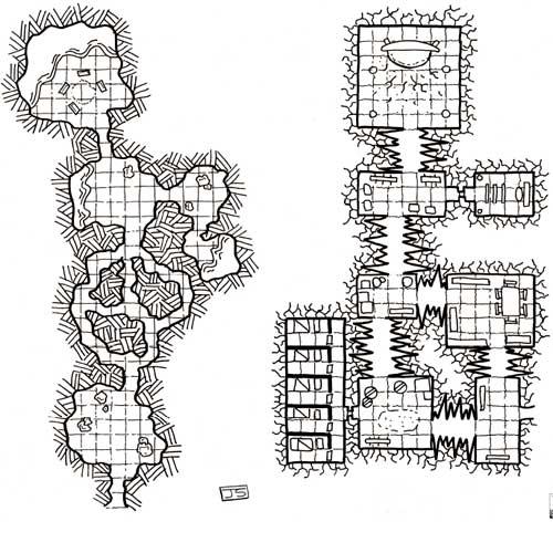 Mapa de Rol Gratis El círculo del acantilado - La defensa en el vórtice en Nathandor