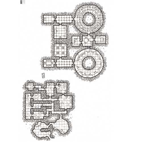 Descarga el mapa de rol gratis - La biblioteca de Tolzul - El aprendizde nigromante - de nathandor.com