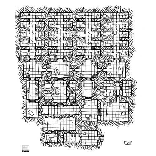 Descarga el mapa de Rol Gratis La_prision_de_Brakwulf en nathandor
