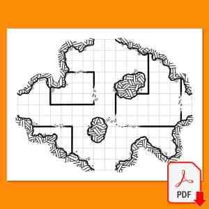 Mapa de rol 12 del Maptober 2021 en nathandor.com