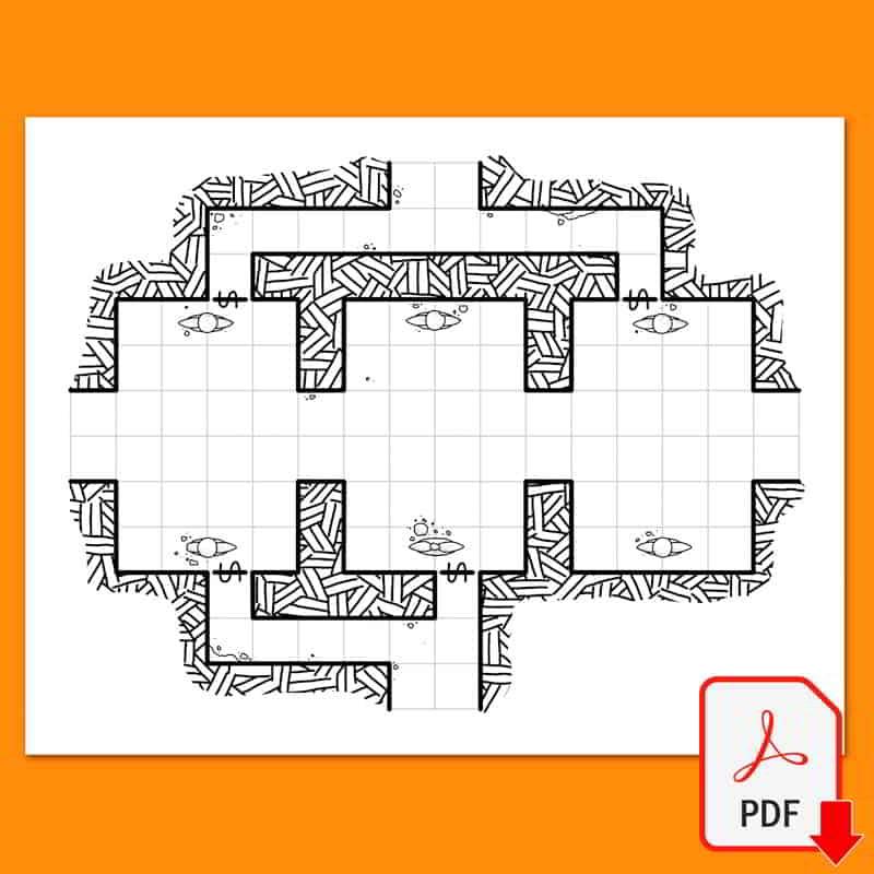 Mapa de Rol 16 del Maptober 2021 en nathandor.com