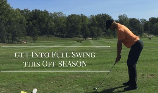 Golf Offseason training