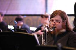 nathan with bass clarinet