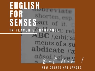 Course: English for Senses
