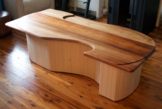 s shaped coffee table nathaniel grey