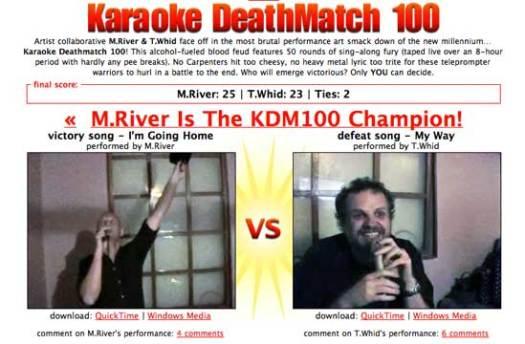 karaoke deathmatch 100