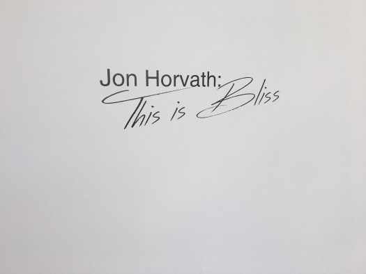 Jon Horvath at The Alice Wilds