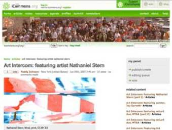 nathaniel stern: Art Fag City interview for iCommons