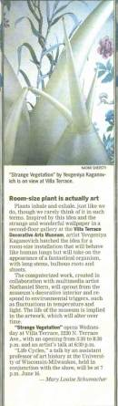milwaukee journal sentinel feature on strange vegetation